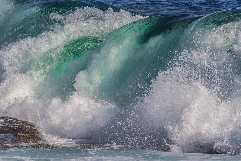 Wave Breaking at Schoodic Point