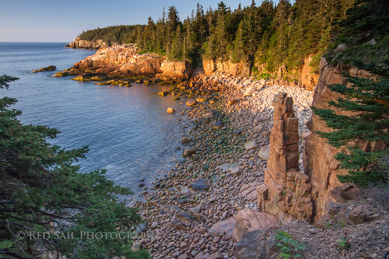 Morning at Monument Cove
