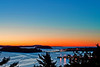 Maine, Acadia National Park, Coastline , Cadillac mountain, Porcupine  islands,  Sunrise, Landscape, 缅因, 阿卡迪亚国家公园 海岸 风景