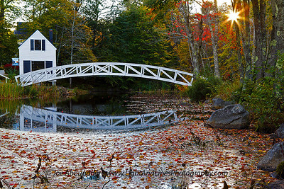 Little Bridge.  October 2011.  Somesville.