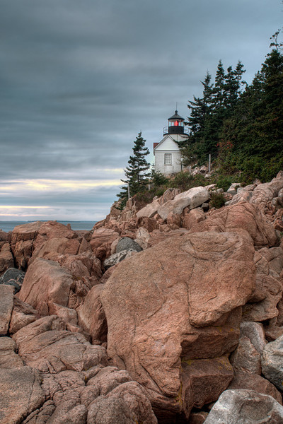 Bass Head Lighthouse<br /> Mt. Desert Island, Maine