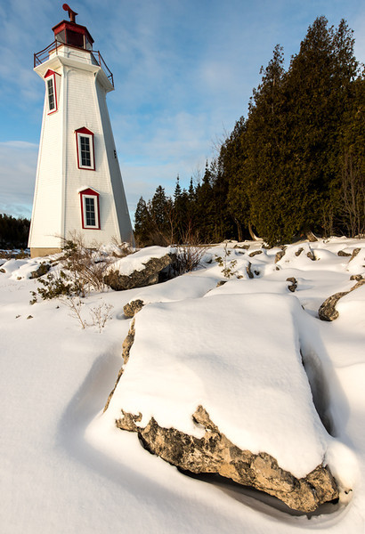 Big Tub Lighthouse<br /> Toberbory, Ontario