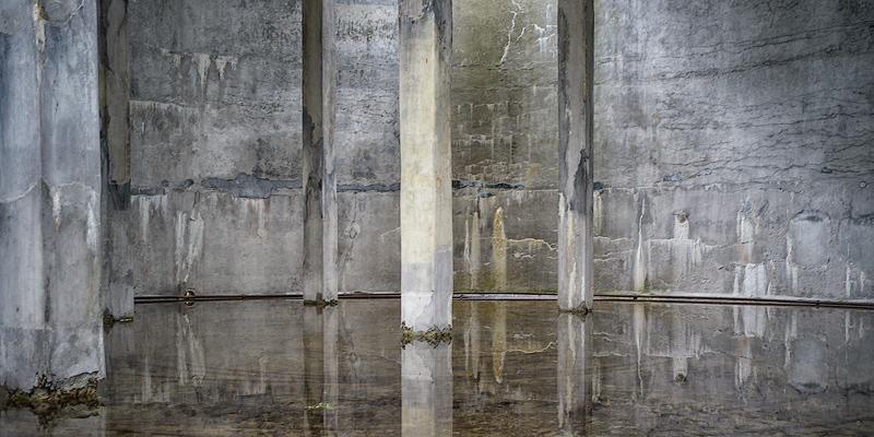 Herring Oil Tank, wet