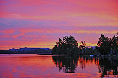 Raquette Lake Sunrise # 5,