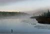 Rising fog inflow