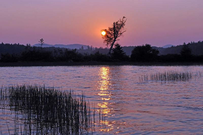 Sunrise on Raquete Lk