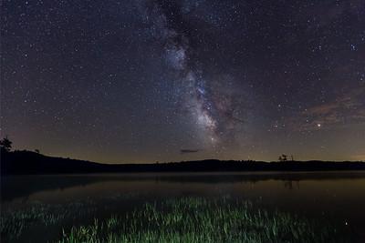 Moss Lake,  Adirondack Park, NY.