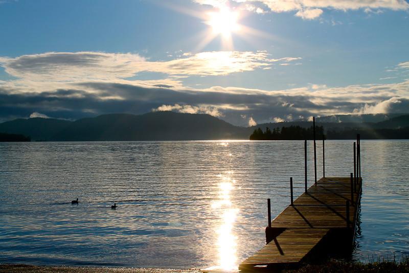 Inlet boat launch, Adirondacks