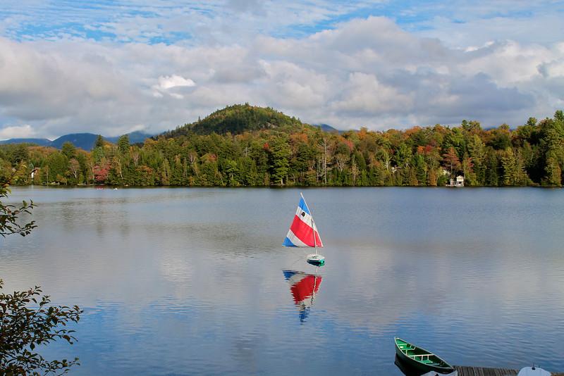 Mirror Lake, Lake Placid.