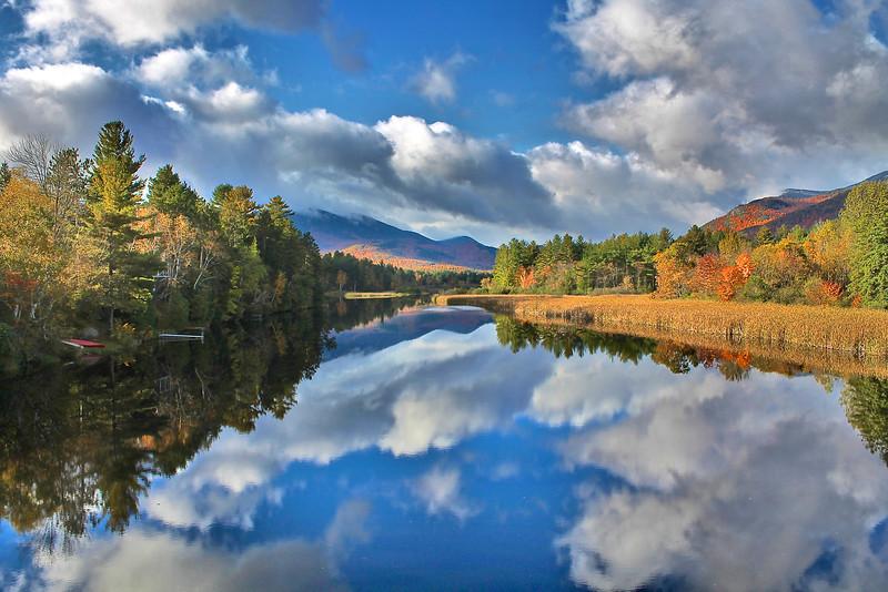 Wilmington Ausable river.  Fall