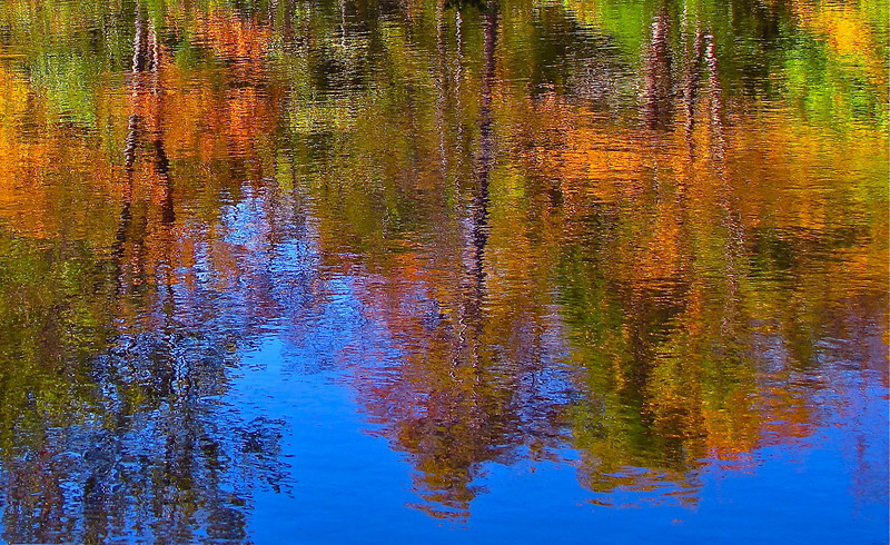 Fall Reflections of the Adirondacks