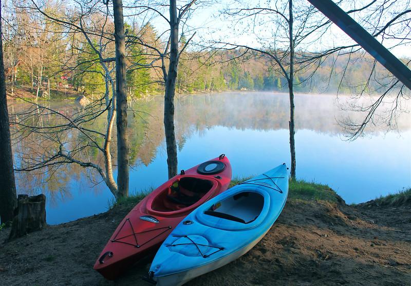 Lake Serene, Old Forge Camping resort, Adirondacks