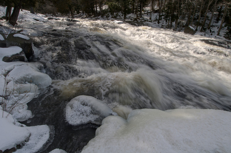 February 21 - Buttermilk Falls in the Central Adirondacks.