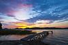 Sunrise at the dock