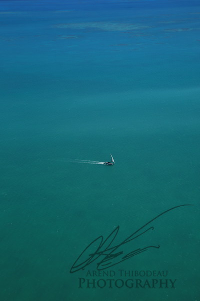 Lone boater
