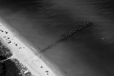 Old Naples Pier from Above