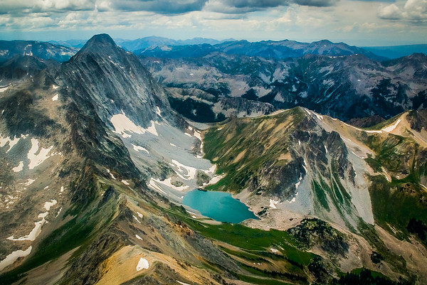 Capitol Peak and Capitol Lake