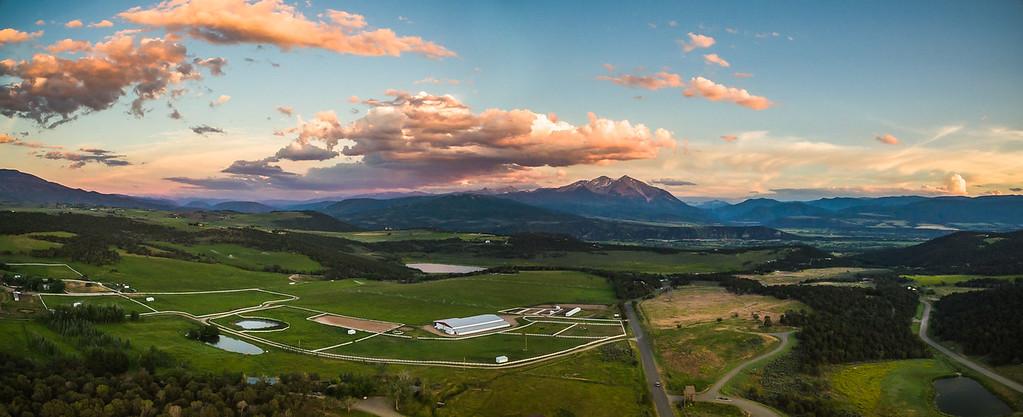 Mt Sopris sunset
