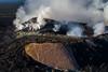 Kilauea Crater Big Isalnd Hawaii New vent