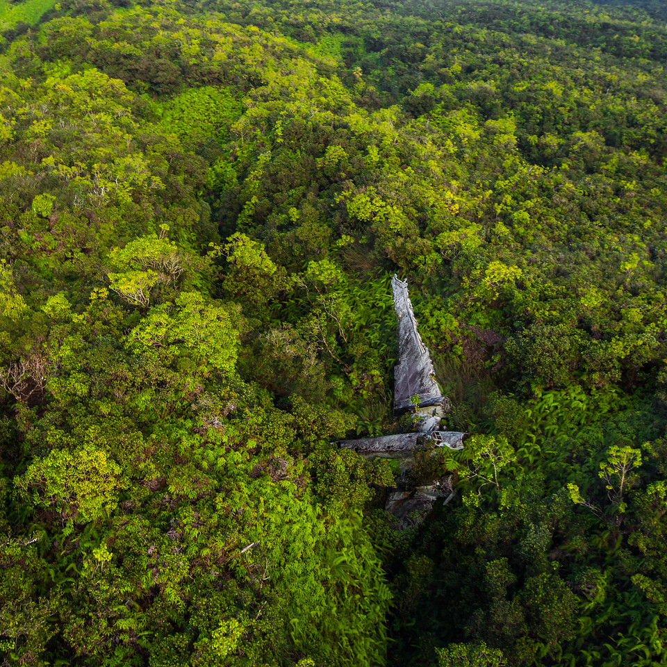 Aerial Hawaii.