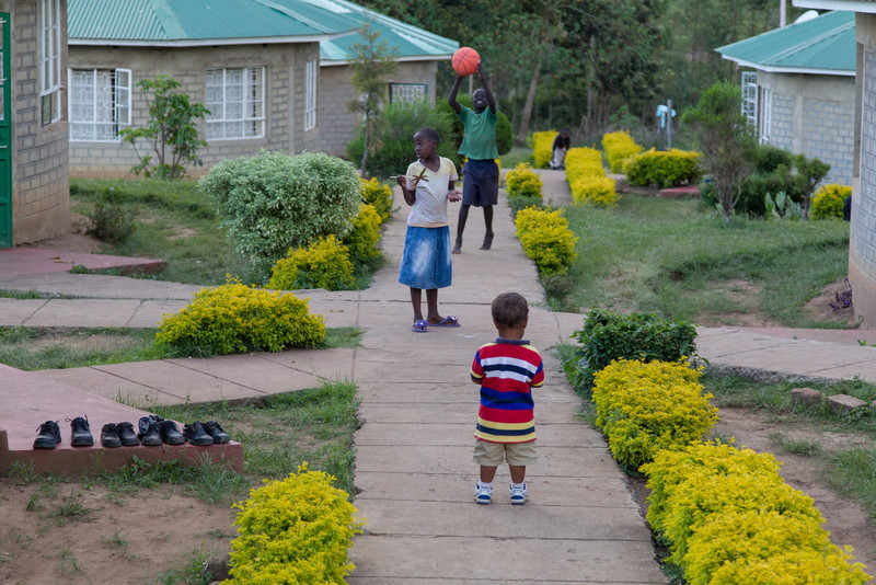 Kipkaren Children's Home, a large orphanage run by Empowering Lives International.