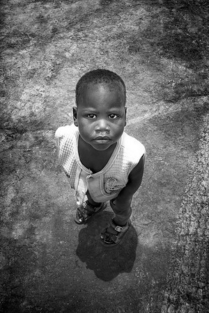An orphan who is being given a life and a future through this work.