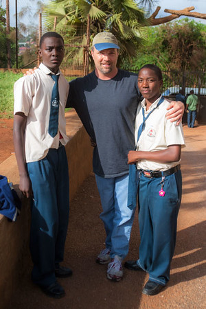 """Little Dan"" on the right. The first time I had seen him in many years, now as a thriving teen finishing high school. We both shed tears when we say each other. His ongoing education is still in process. If you are interested in helping to support in any way, simply contact me at WildForLight@gmail.com"