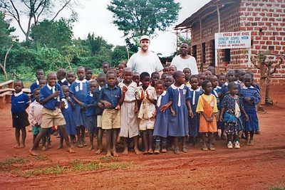 Some of our orphaned kids being sponsored to go to school in Uganda, Africa.