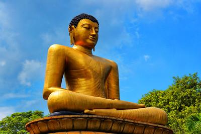 Buddha Statue, Colombo, Sri Lanka