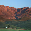 Little Karoo: Sunrise on the Swartberg Mountains (Kruisrivier Guest Farm)