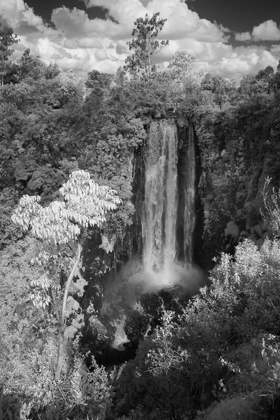 Infra Red, Thomson Falls (Nyahururu), Kenya