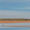 Karoo : Kaalpan Salt Pan Early Morning after Rain