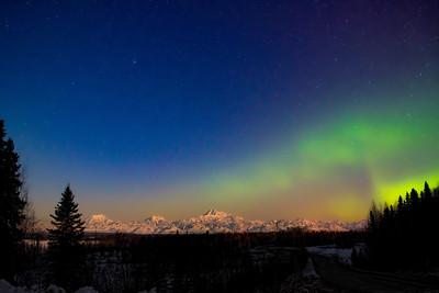 Aurora and Denali, Talkeetna Alaska