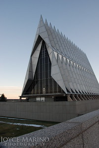 Air Force Academy Chapel in Colorado Springs, CO, DSC_0496.