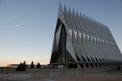Air Force Academy Chapel in Colorado Springs, CO, DSC_0491.