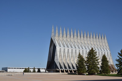 Air Force Academy Chapel in Colorado Springs, CO,