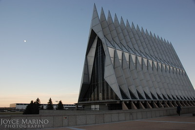 Air Force Academy Chapel in Colorado Springs, CO, DSC_0490.