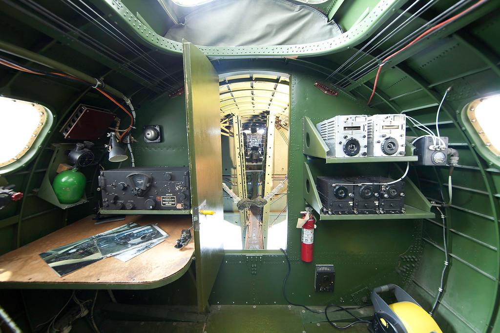 B17 Navigator's station