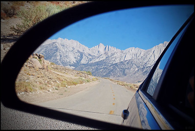 Mt. Whitney in Reflection  Whitney Portal Road, Lone Pine, CA