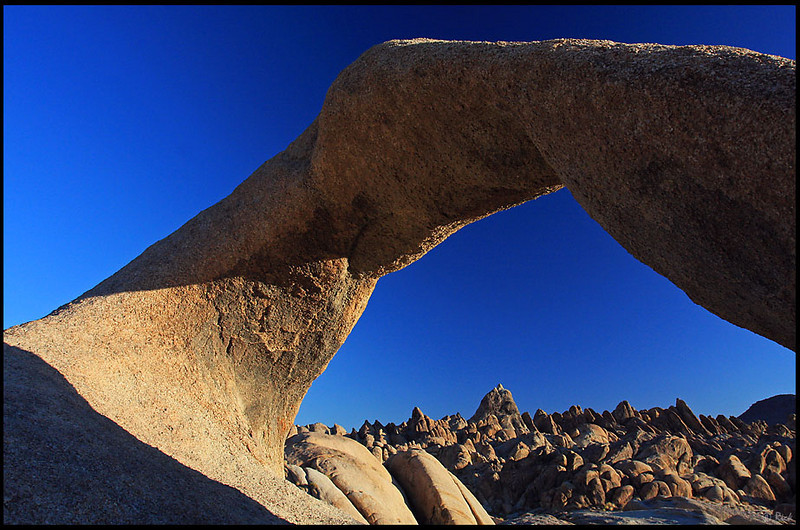 Mobius Arch and Alabama Hills, Sunrise