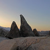 The Sun Sets in the Alabama Hills