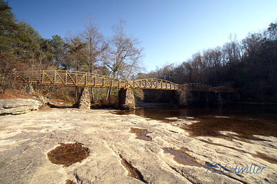 High Falls Park in DeKalb County Alabama