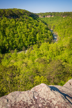 Winding River at Little River Canyon National Preserve