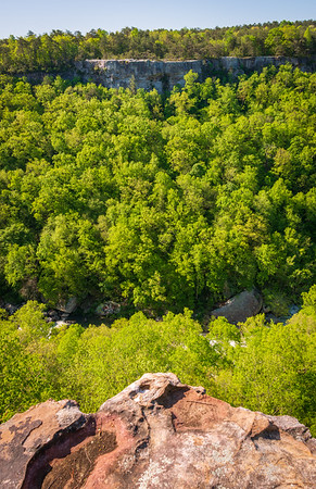 A Look into the Valley at Little River Canyon National Preserve