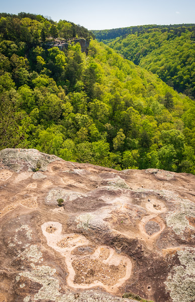 Stone Overlook at Little River Canyon National Preserve