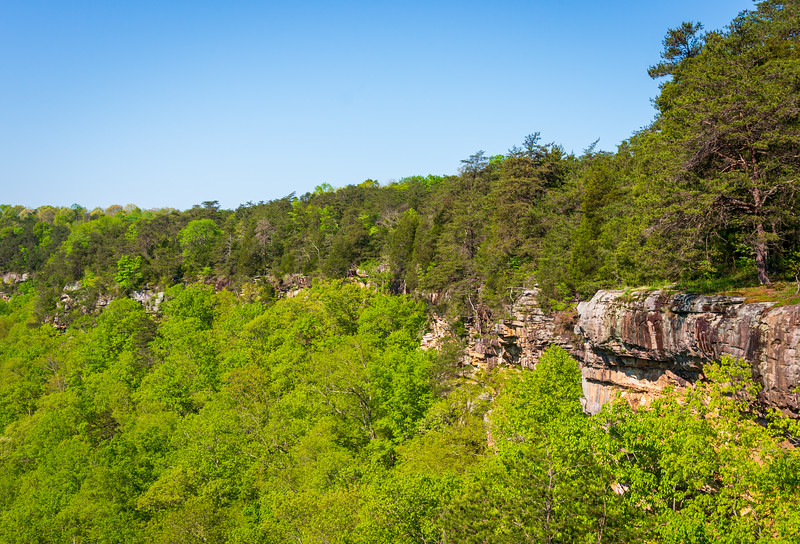 Ridged Cliffs at Little River Canyon National Preserve