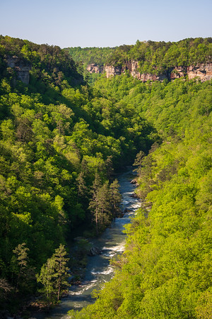 View of the River at Little River Canyon National Preserve