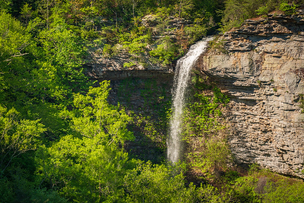 Waterfall at Little River Canyon National Preserve