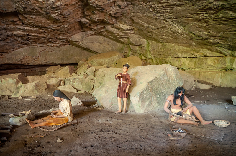 Historic Recreation of Daily Life at Russell Cave National Monument