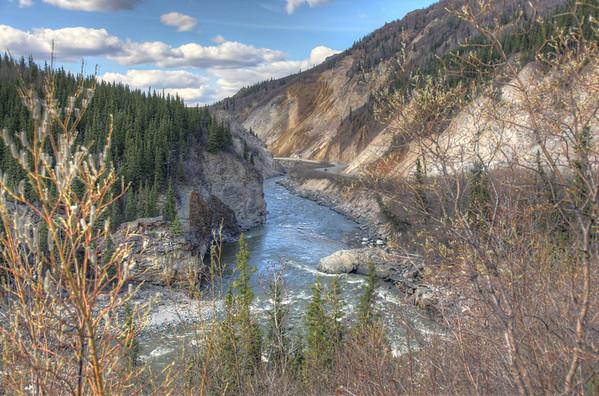 The road to Denali. Denali, Alaska.